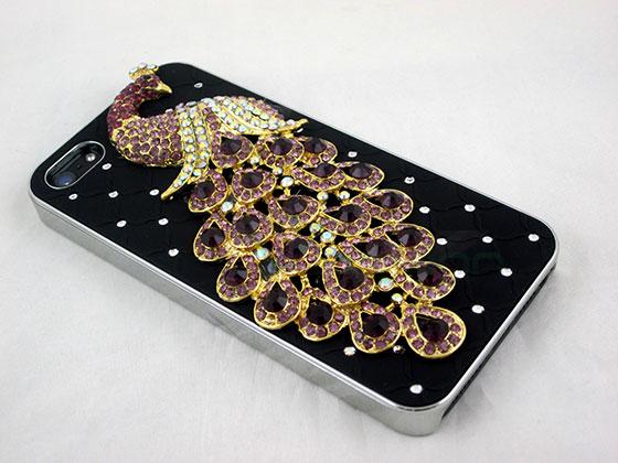 custodia iphone 5 brillantini