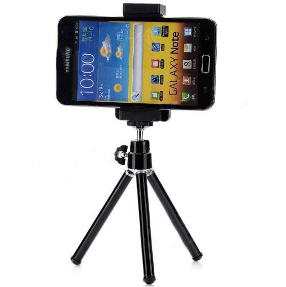 Cavalletto Portatile 20 Cm Supporto Foto Per Samsung Galaxy S5 G900f