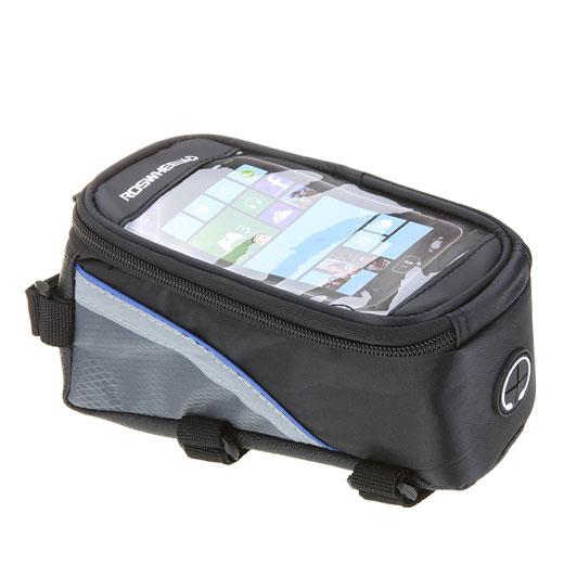 Borsa custodia bicicletta 12496L-C5 touch ROSSA per Samsung Galaxy Note 2 N7100
