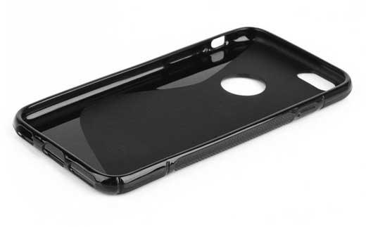 custodia nera iphone 6 plus