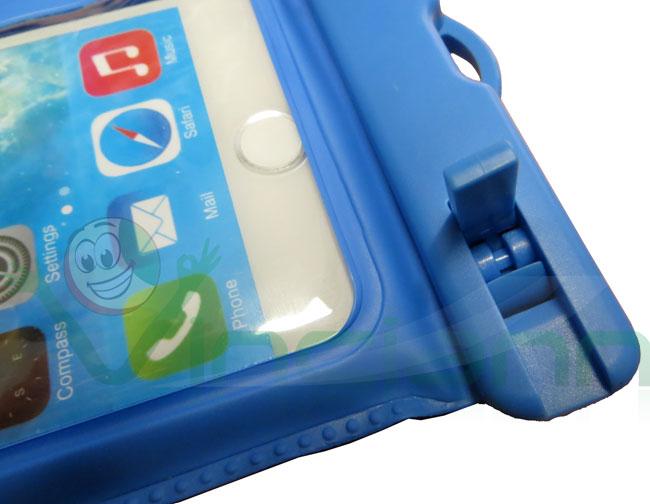 2in1 custodia impermeabile+armband fascia per Samsung Galaxy S7 G930F mare CC1
