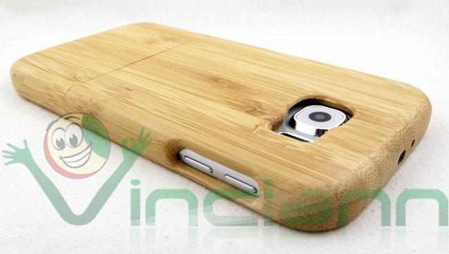 custodia samsung s6 legno
