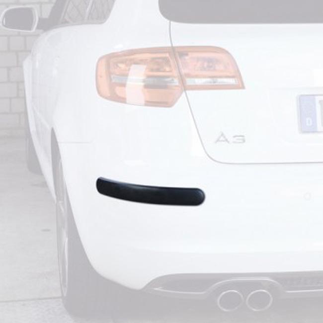 2 pezzi Bumper 49x390x11mm originale HR-imotion adesivo protezione paraurti auto