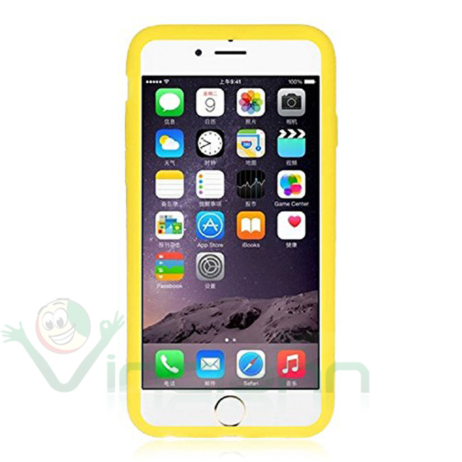 custodia iphone 6 gialla