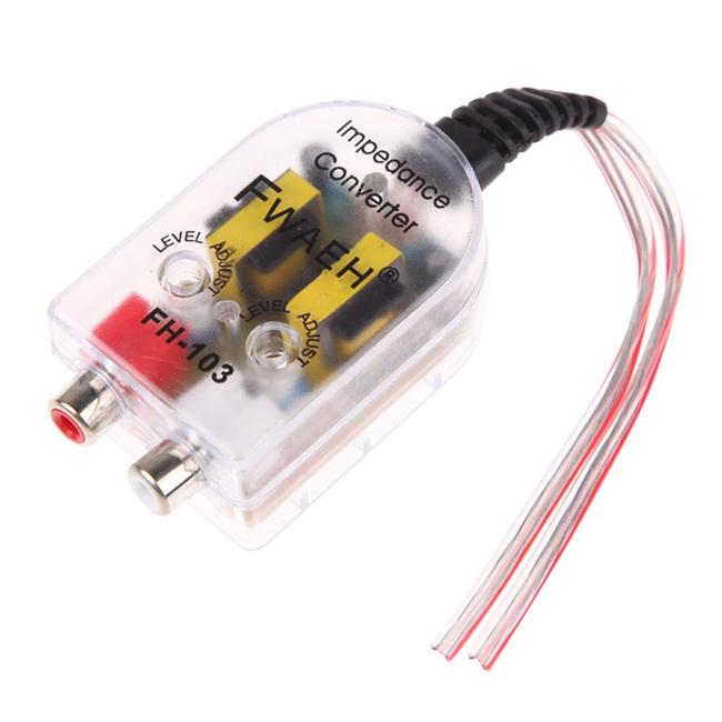 come si fa a collegare un amplificatore a una radio di fabbrica