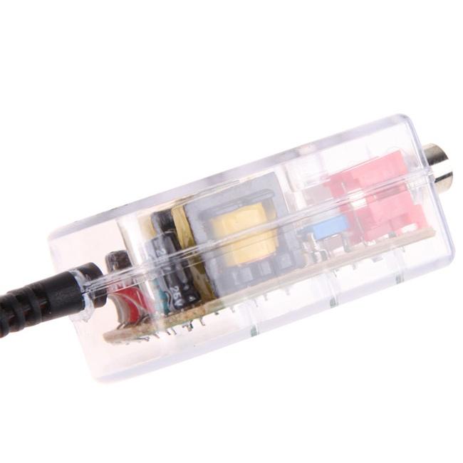 adattatore convertitore ad alta impedenza per sistemi audio per auto Amplificatore CD audio per auto