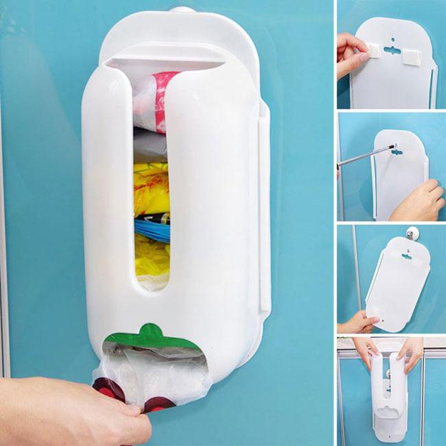 Porta sacchetti buste dispenser raccoglitore contenitore - Porta sacchetti plastica ...